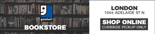 Shop Online Bookstore. 1044 Adelaide street north, London.